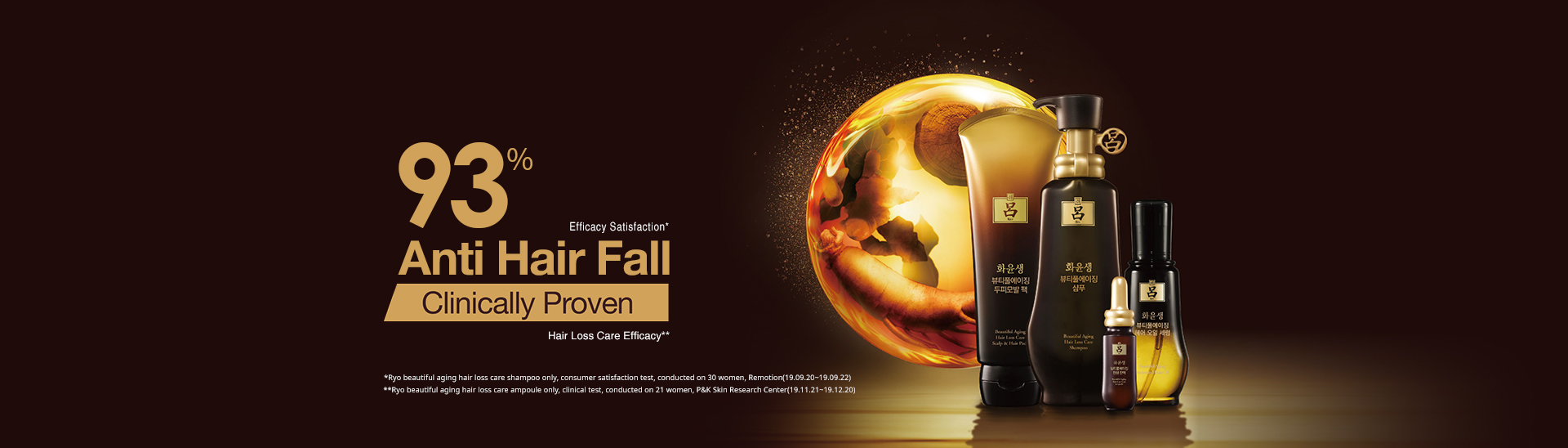 93% Anti Hair Fall Clinically Proven